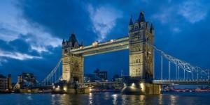 Tower bridge London Twilight