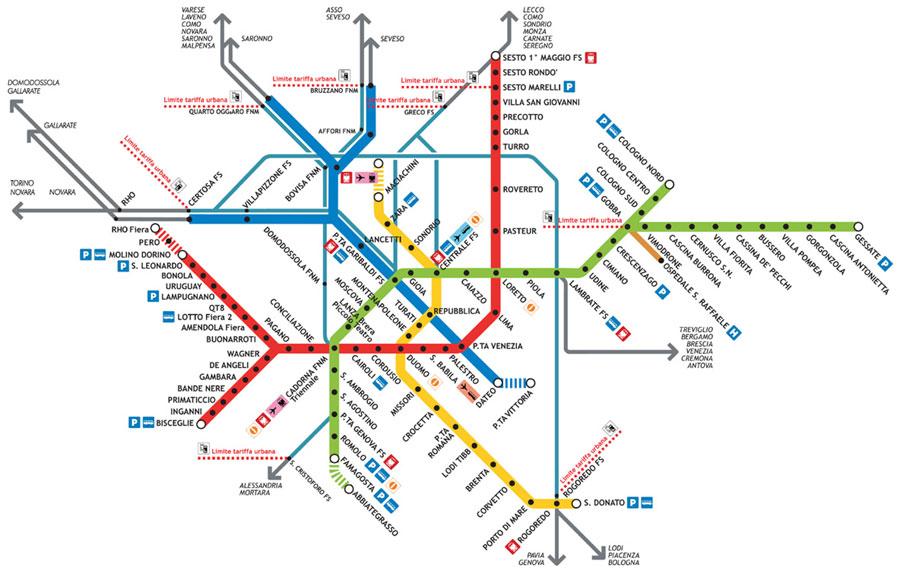 Metro de Milão