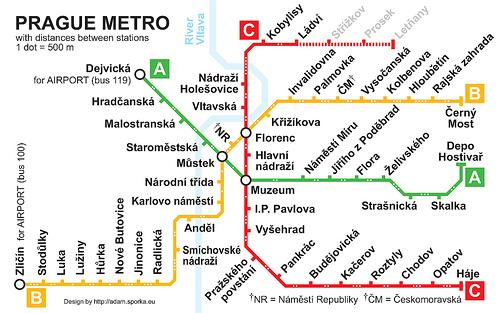 Plano de Metro de Praga