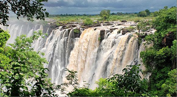 Cataratas Vitória, Zâmbia