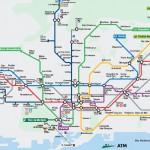 Plano do Metro Barcelona