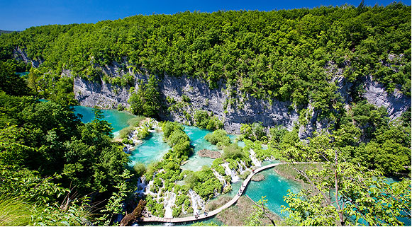 Parque Nacional dos Lagos Plitvice, Crocia