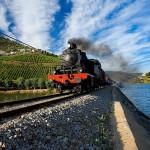 Comboio a vapor Douro