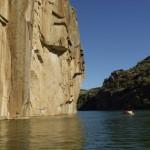 Passeio de canoa no Douro