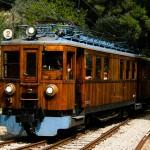 Comboio entre Palma e Soller